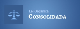 Banner Lei orgânica consolidada